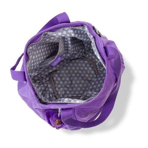 Bolsa-de-Ombro-Balloon-Roxa---Kipling