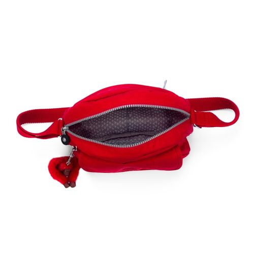 Bolsa De Ombro Rosa Vermelha   Kipling : Bolsa transversal stelma vermelha kipling allbags