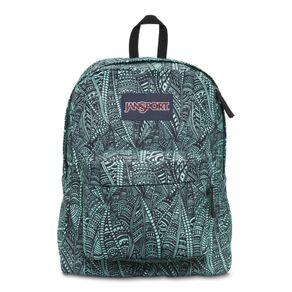 Mochila-SuperBreak-Verde-Estampada---JanSport