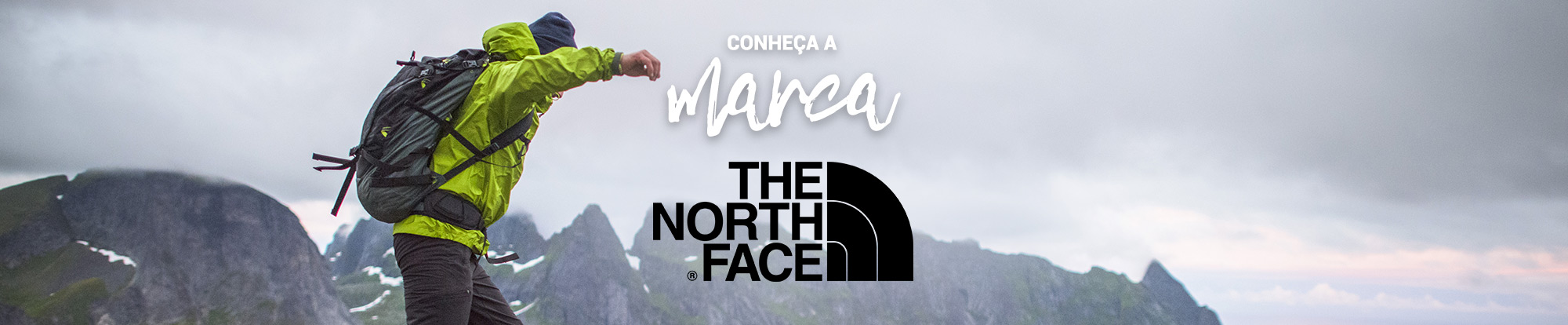Banner Marca The North Face