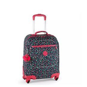 mala-com-rodinhas-licia-azul-marinho-e-rosa-kipling-30028R15