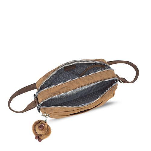 c814d1057 Bolsa Transversal Haru Marrom | Kipling - allbags