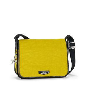 Bolsa-Transversal-Luxeables-Amarela---Kipling