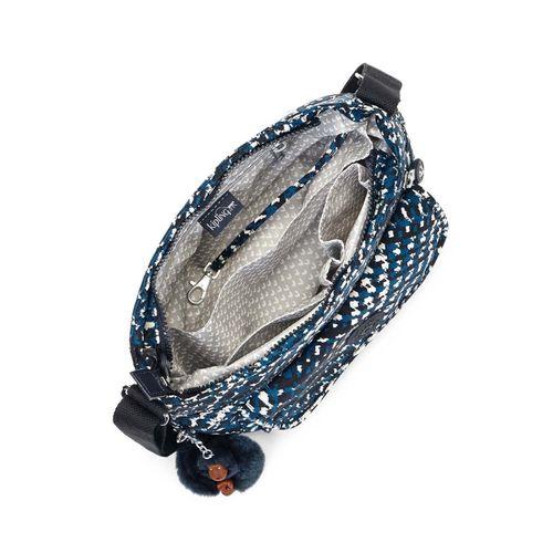Bolsa-Transversal-Syro-Preta-Branca-Azul---Kipling