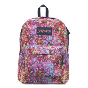 Mochila-Superbreak-Rosa-Estampada---Jansport