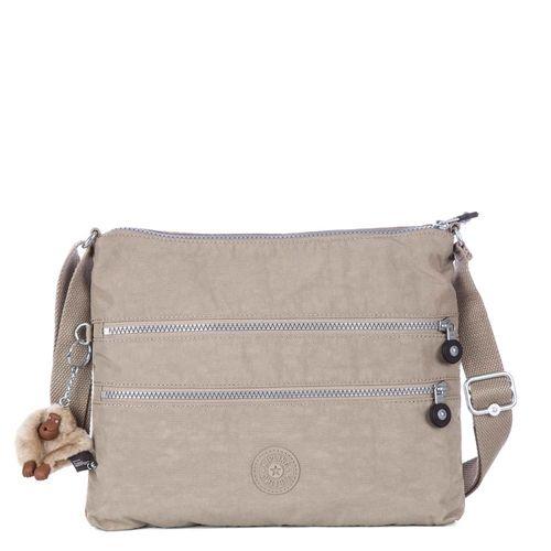 eb0357209 Bolsa Transversal Alvar Cinza Claro | Kipling - allbags