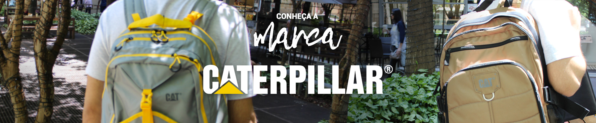 Banner Marca Caterpillar
