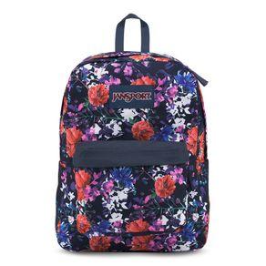 mochila-superbreak-azul-marinho-estampa-flores-jansport-T50133Y