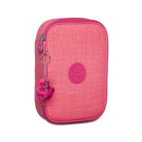 estojo-escolar-100-pens-rosa-kipling-0940504V