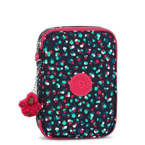 estojo-escolar-100-pens-azul-marinho-rosa-kipling-09405R15
