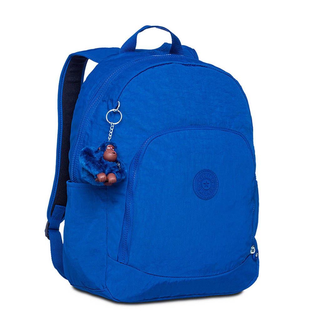 8acb92e32 Mochila Escolar Carmine Azul | Kipling - allbags