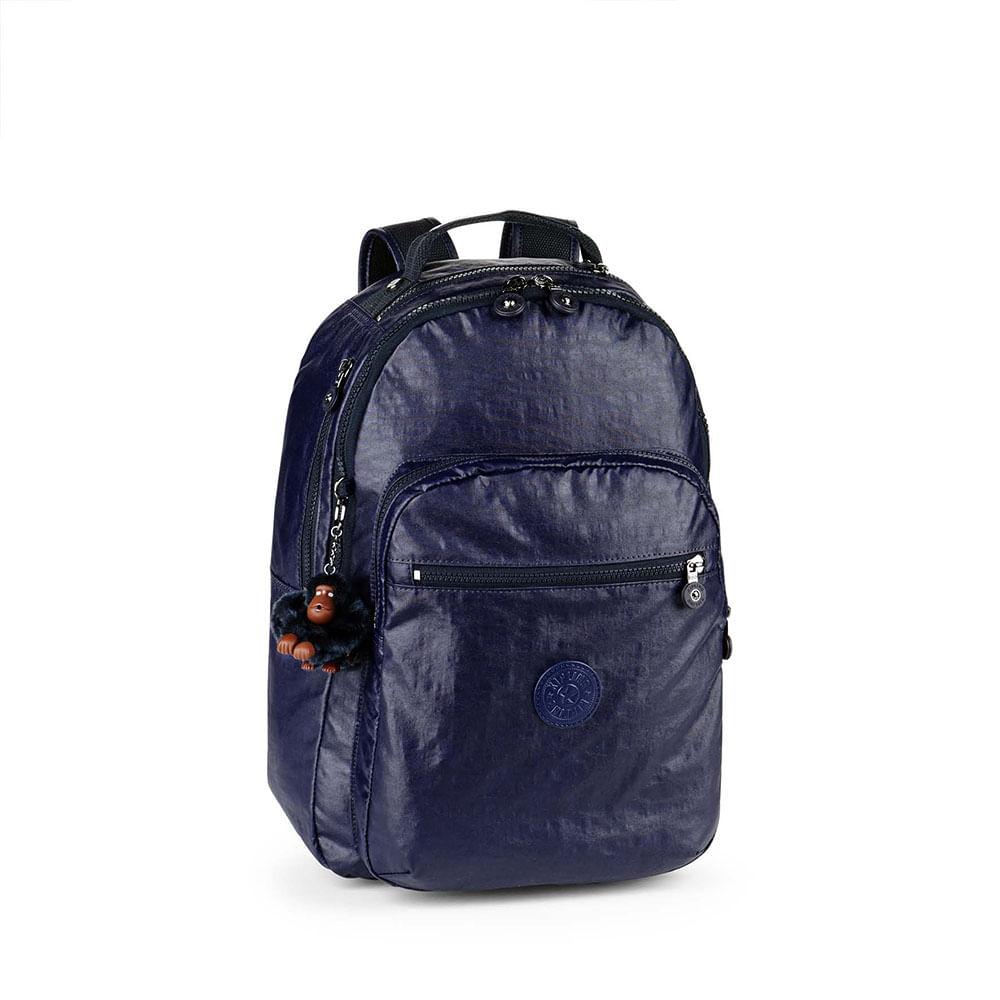 02d1a857e Mochila Escolar Clas Seoul Azul Marinho | Kipling - allbags
