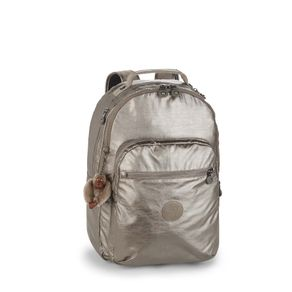 mochila-escolar-clas-seoul-metalizada-kipling-12629L34