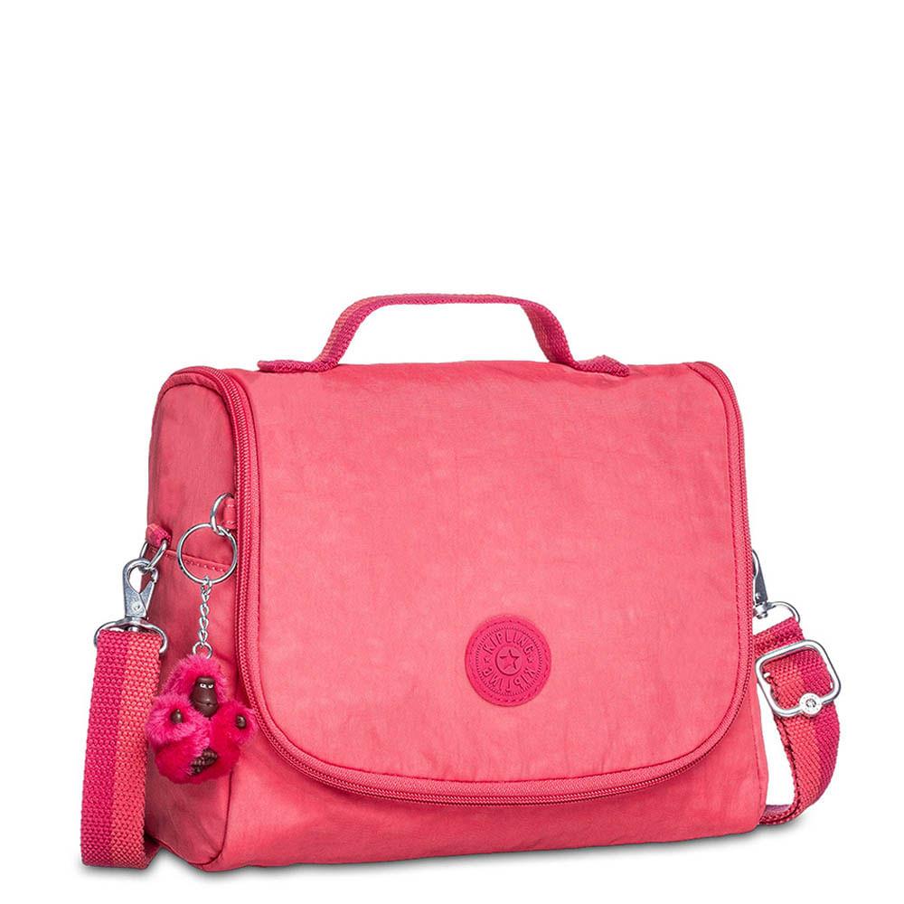 a35298263 Lancheira Escolar New Kichirou Rosa | Kipling - allbags