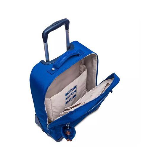 c90553aba ... mala-com-rodinhas-licia-azul-kipling-30028G98