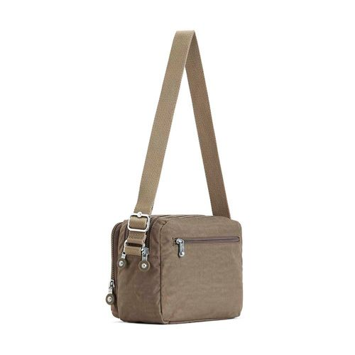 103245c5a Mini Bolsa Transversal Silen Bege True Beige Kipling - allbags