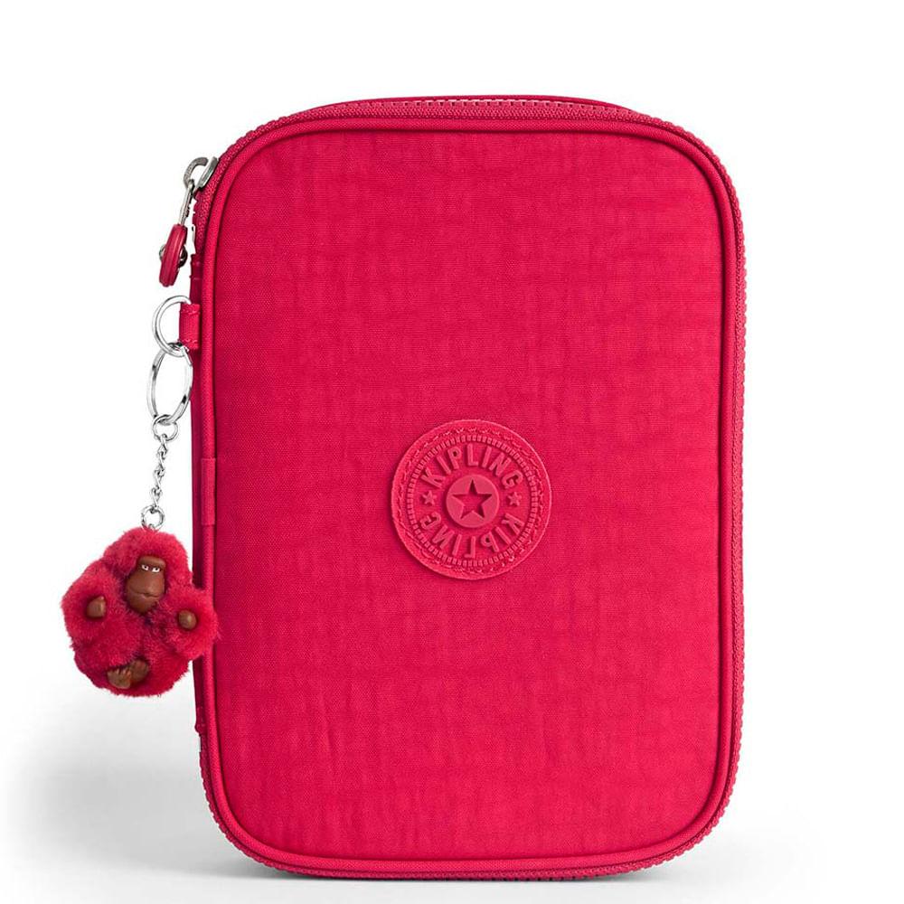a59ed7baa Estojo Escolar 100 Pens Rosa True Pink | Kipling - allbags