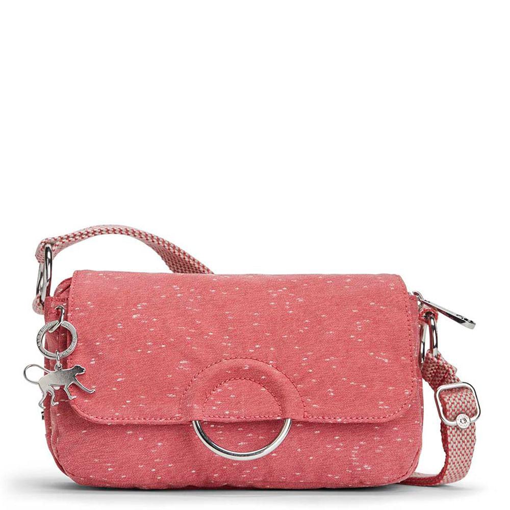 312de0fb0 Bolsa Transversal Paradisi Vermelho Red Linen Kipling - allbags