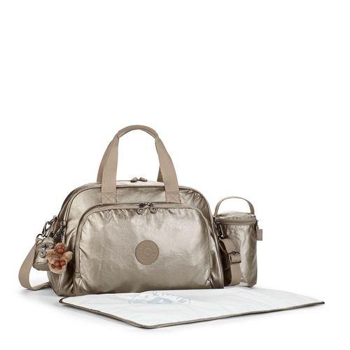 8d600df8e Bolsa de Mão Camama Dourada | Kipling - allbags