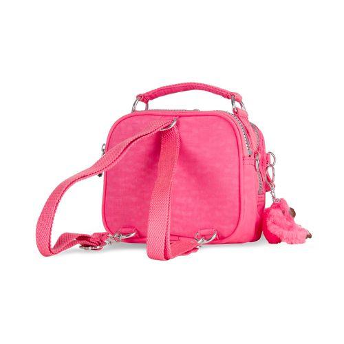 febea50b2 Mini bolsa de mão Puck Rosa   Kipling - allbags