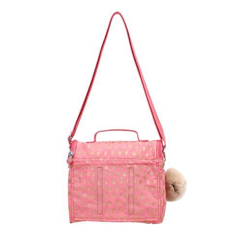 da03512c4 Lancheira Kichirou Flex Rosa Pink Gold Drop | Kipling - allbags