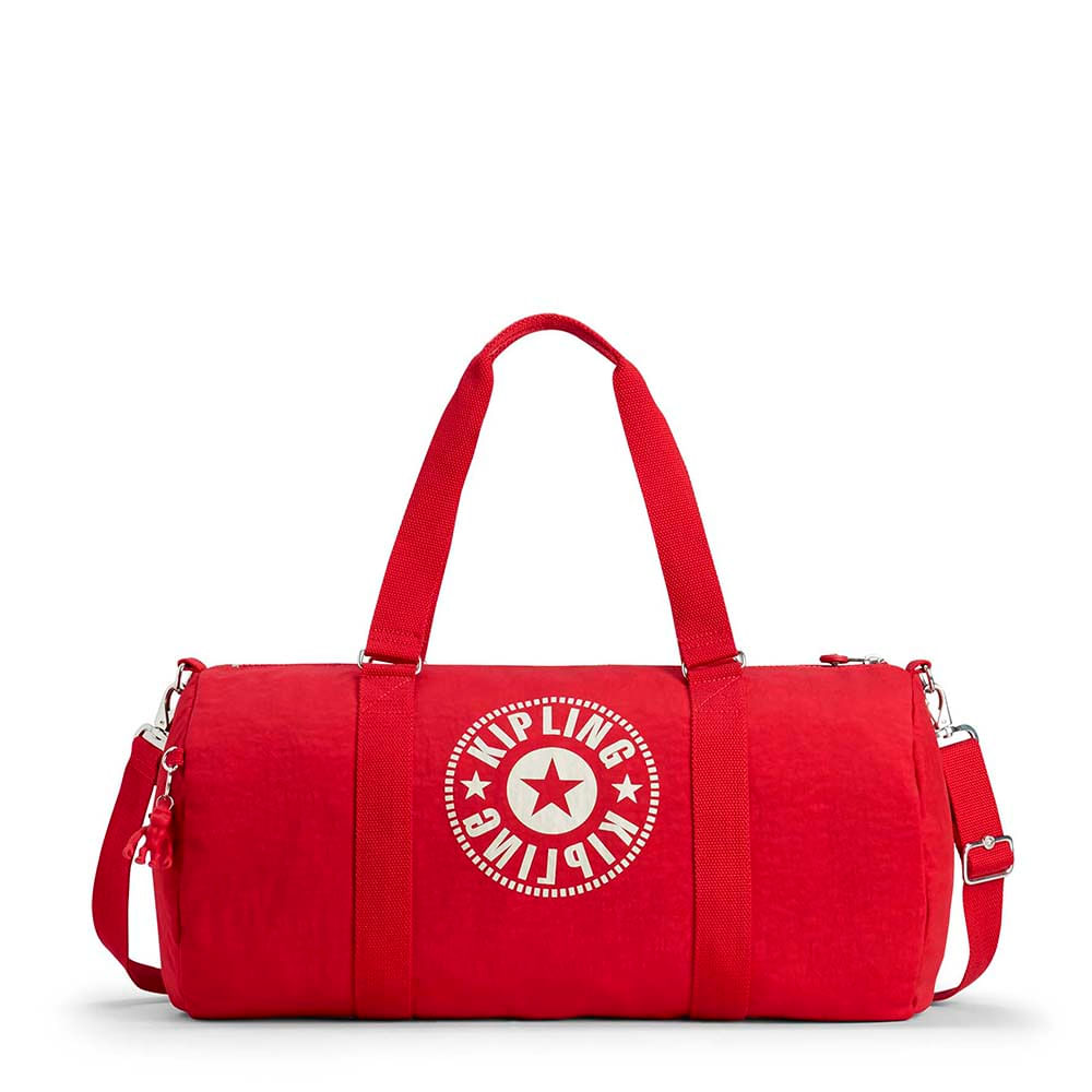 176a083ee Bolsa de Viagem Grande Onalo L Vermelha Lively Red   Kipling - allbags