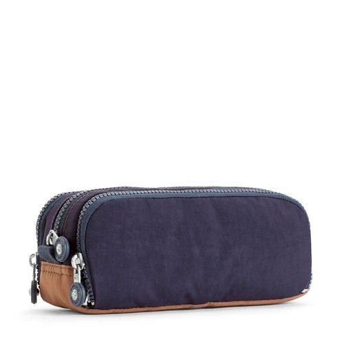 4778c85ec Estojo Gitroy Azul Blue Tan Block | Kipling - allbags