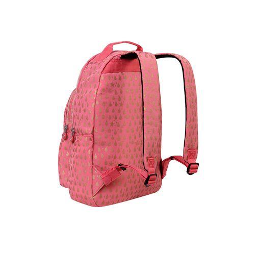 38aaf0b31 Mochila Escolar Gouldi Rosa Pink Gold Drop   Kipling - allbags