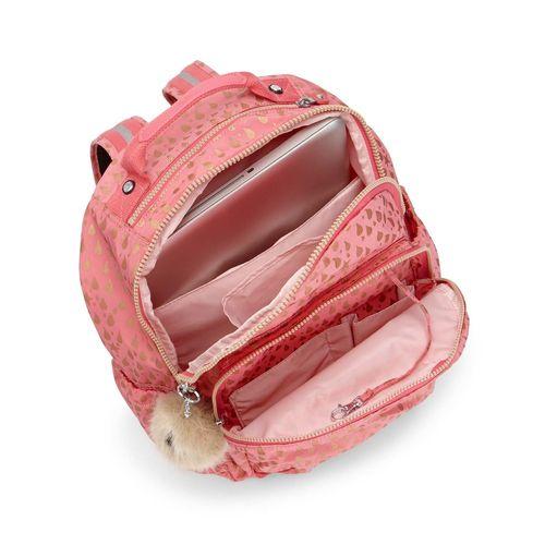 5f5cd0dfa Mochila Seoul Go Rosa Pink Gold Drop | Kipling - allbags