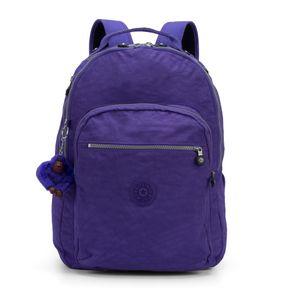 a36d06ba4 Mochila Escolar Clas Seoul Roxa Purple Grape Kipling