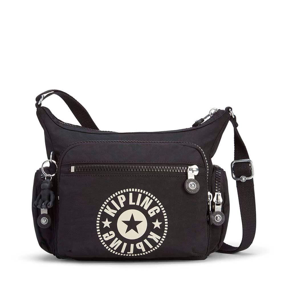 204142b9b Bolsa Transversal Gabbie S Preta Lively Black | Kipling - allbags