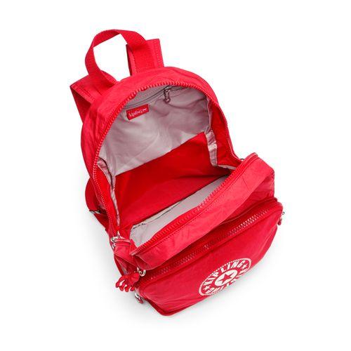 94e7ae328 Mochila de passeio Classic Niman Fold Vermelha Lively Red | Kipling ...