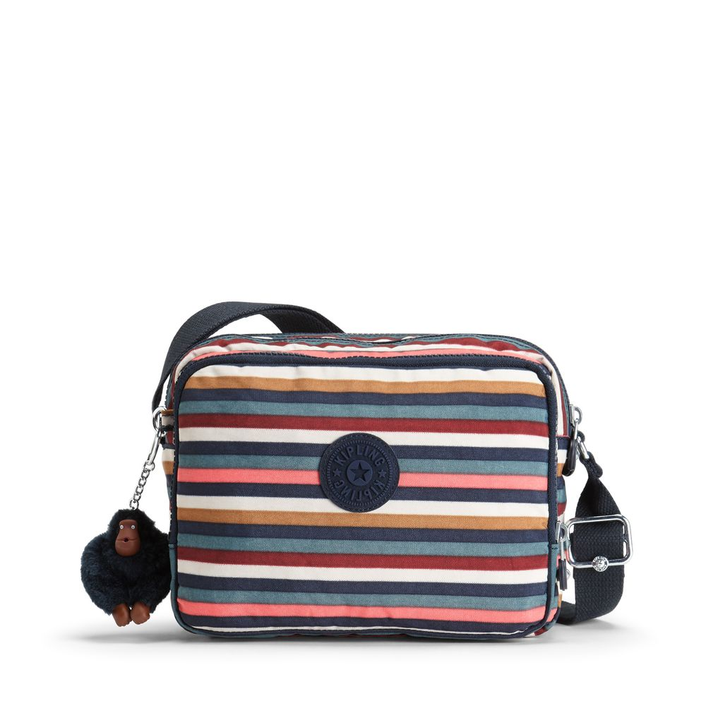 ef3d3faba Mini Bolsa Transversal Silen Listrada Multi Stripes | Kipling - allbags