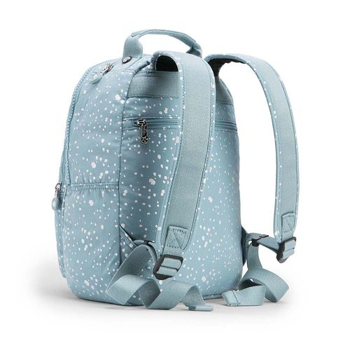 964edea96 Mochila Clas Seoul S Azul Silver Sky   Kipling - allbags