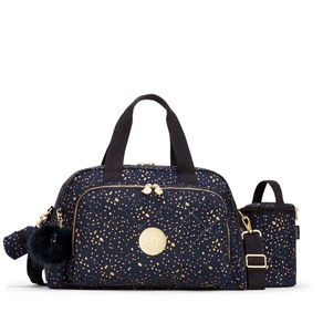 0083b0763 Bolsa Maternidade Camama Azul Golden Night | Kipling - allbags