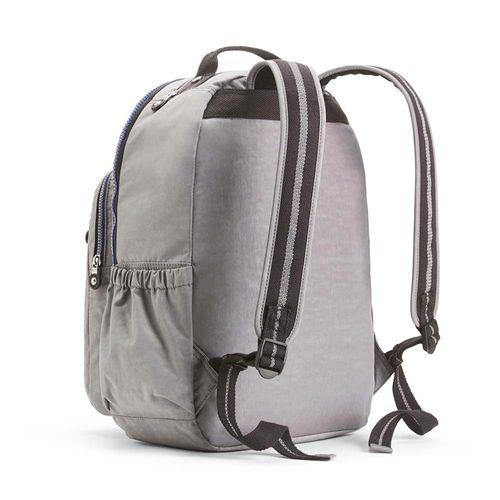3f8fd43a4 Mochila Seoul Go Cinza Kind Grey C   Kipling - allbags