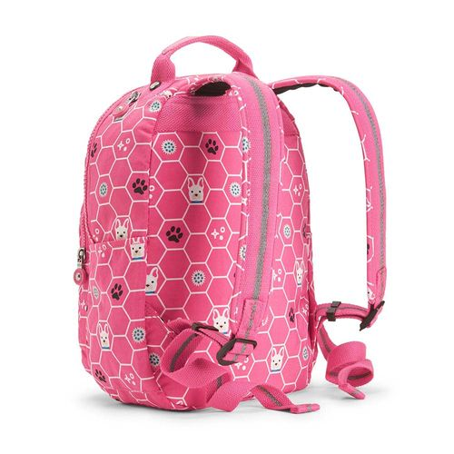 17a4ab22081 Mochila Seoul Go S Rosa Pink Dog Tile