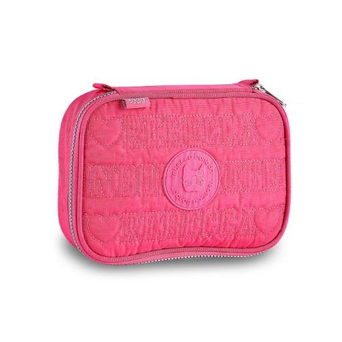 01c96797a Estojo Rebecca Bonbon Lovers Rosa - allbags