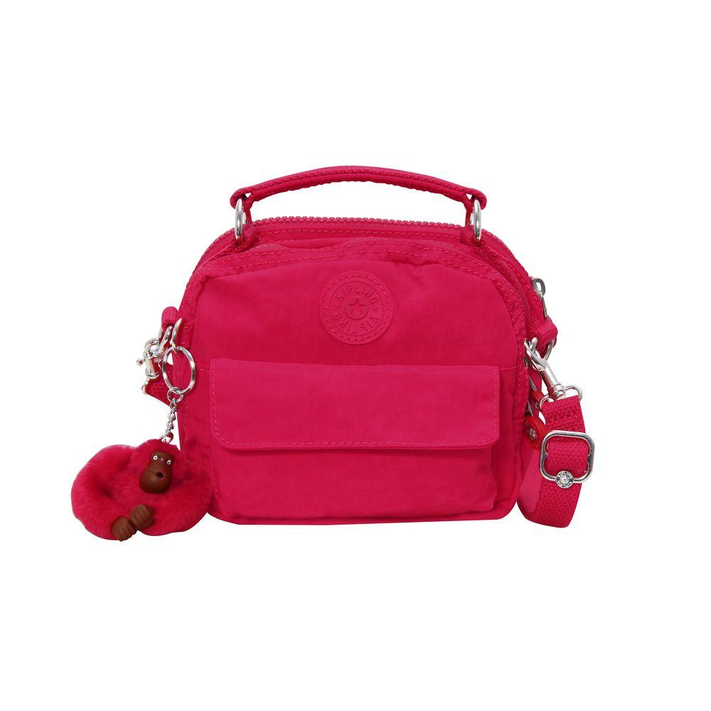 600a265a5 Bolsa de Mão Puck Rosa True Pink | Kipling - allbags