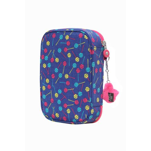 7c088990f Estojo 100 Pens Azul Blue Lollipop | Kipling - allbags