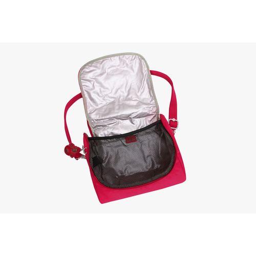 083264884 Lancheira Kichirou Flex Rosa True Pink   Kipling - allbags