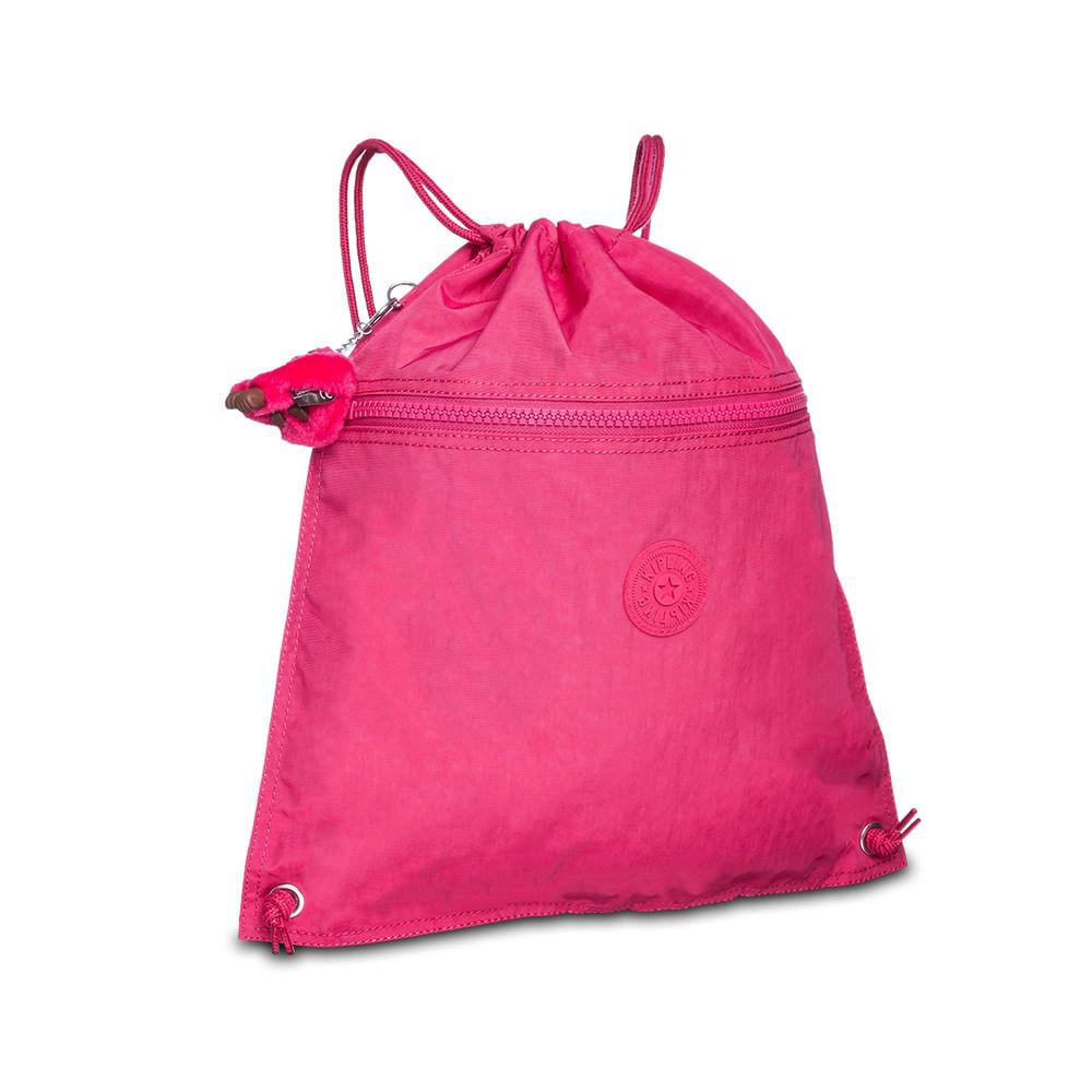 d4b7e9297 Mochila Supertaboo Cerise Pink Rosa Kipling - allbags