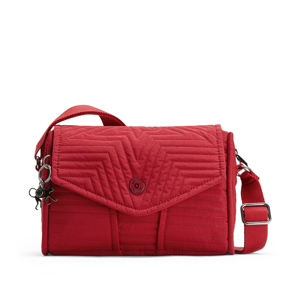 df17010be Bolsa Transversal Ready Now S Vermelha Risky Red | Kipling - allbags